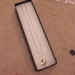 Silpada heart necklace